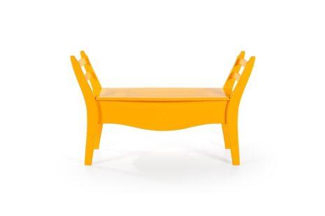 Banco Vintage Amarelo