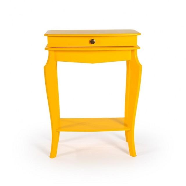 Aparador-amarelo-vintage