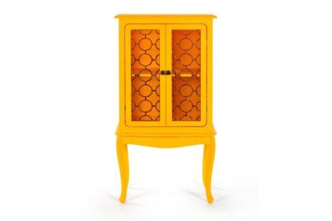 Armário Fiorence 2 Portas Amarelo