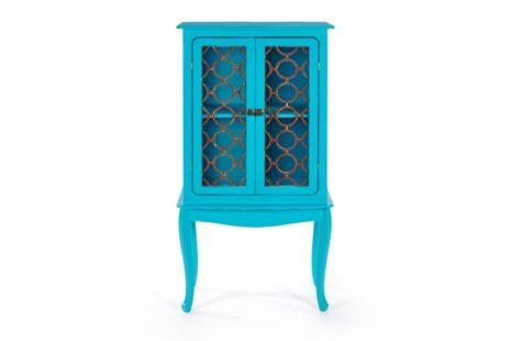 Armário Fiorence 2 Portas Azul