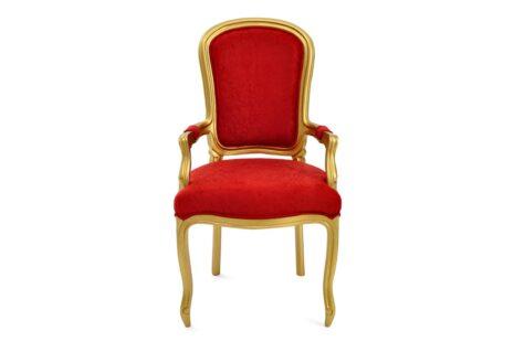 Cadeira-entalhada-com-braço-dourada