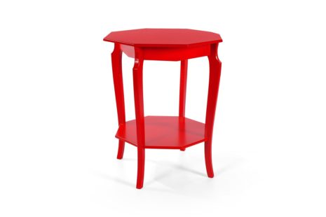 Mesa Lateral Vintage Grande Vermelha