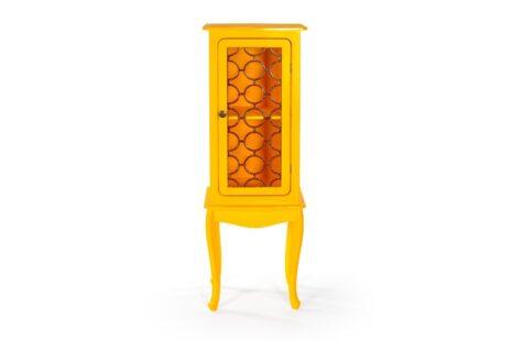 Armário Fiorence 1 Porta Amarelo