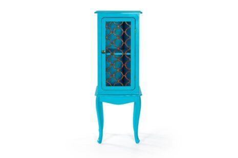 Armário Fiorence 1 Porta Azul