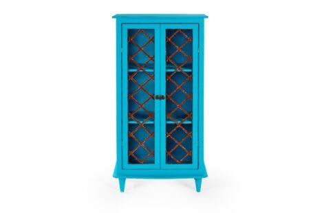 Armário Vintage 2 Portas Azul