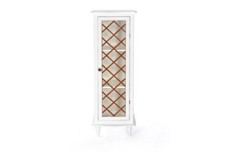 Armário Vintage 1 Porta Branco