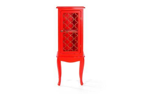 Armário Fiorence 1 Porta Vermelho