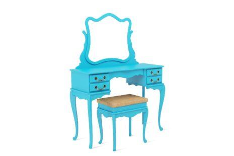 Penteadeira Vintage Azul