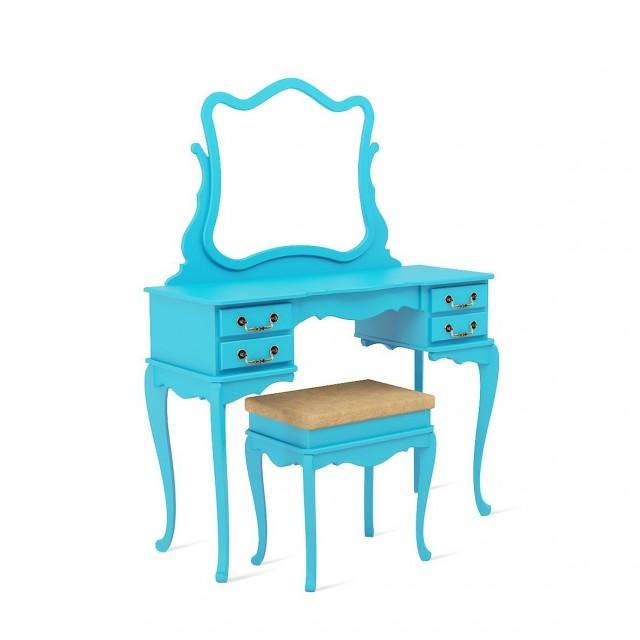Penteadeira-vintage-azul