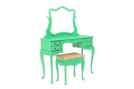Penteadeira Vintage Verde