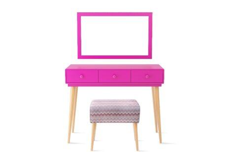Penteadeira Palito Pink