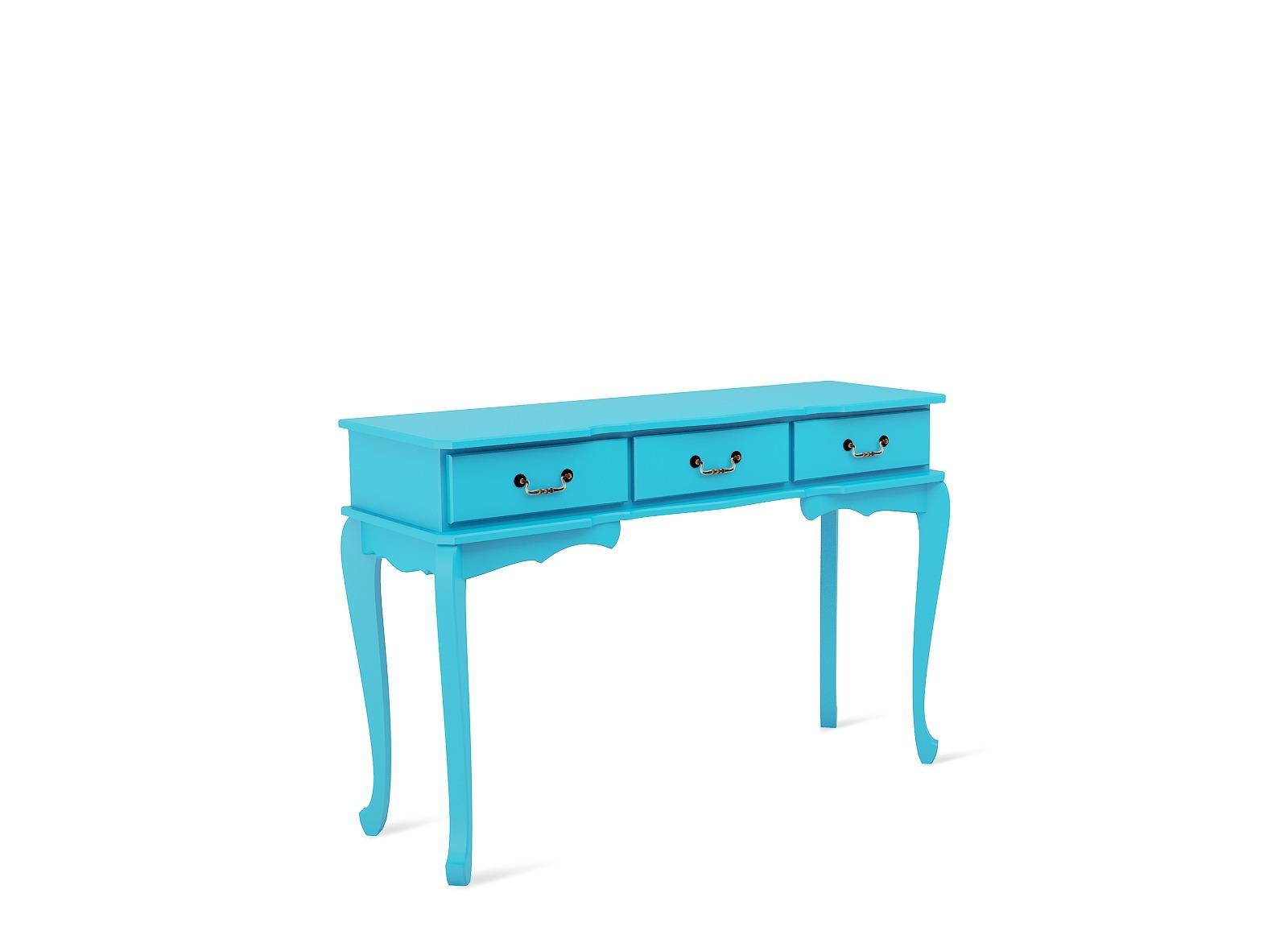 Aparador Aprimore Estilo Vintage Azul Aprimore Móveis e Decoraç u00e3o