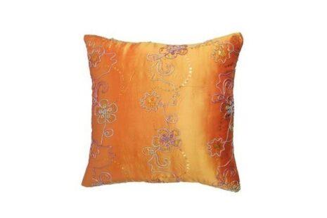 almofada-laranja-cetim-indiana