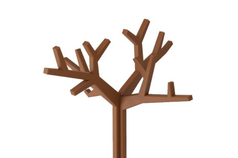 Mancebo Árvore Marrom