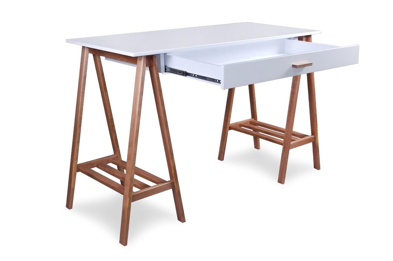 Escrivaninha Cavalete Aprimore Móveis e Decoração #734635 1300x863