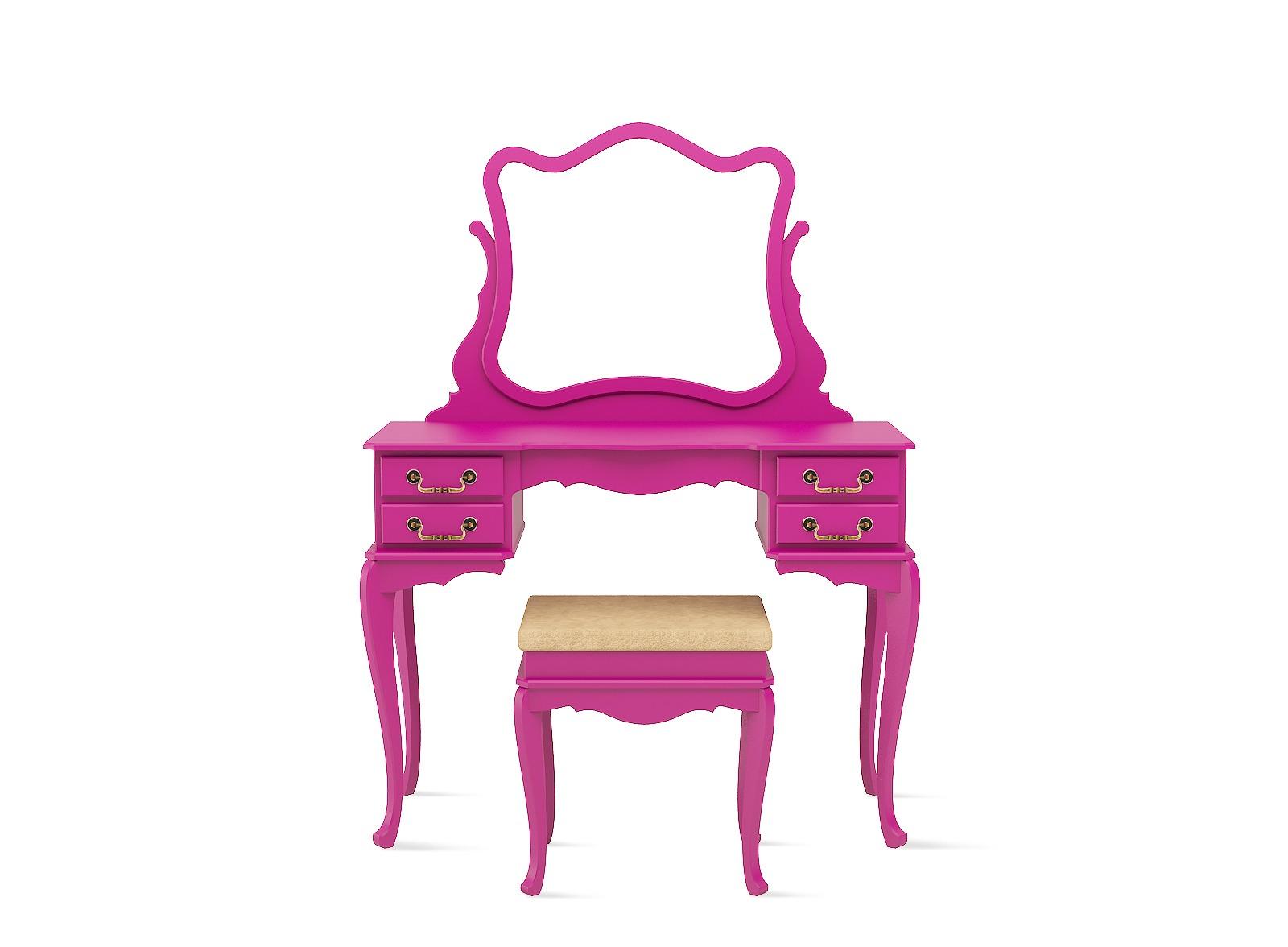 Penteadeira-pink