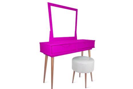 Penteadeira Fiorence Pink