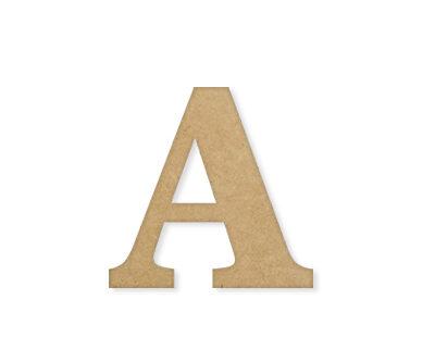 """Letra MDF """"A"""" 12 cm – 18mm"""