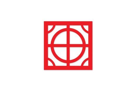 painel vazado mdf - vermelho