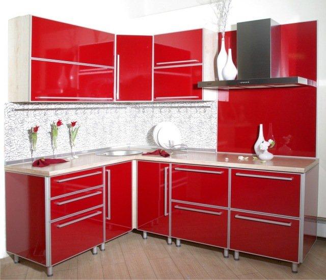 armario-de-cozinha-vermelho