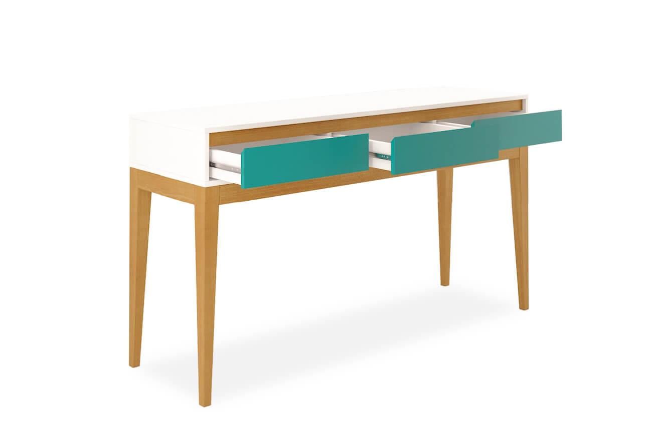 Aparador Gris Ikea ~ Aparador Jatobá 3 gavetas Verde Aprimore Móveis e Decoraç u00e3o