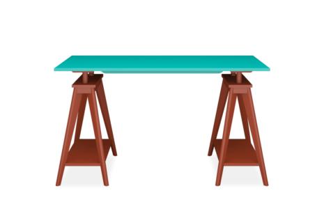 Escrivaninha Cavalete Verde