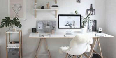 Escritórios Decorados: Veja como deixar o seu home office mais agradável!