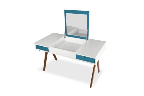 Escrivaninha Base Azul