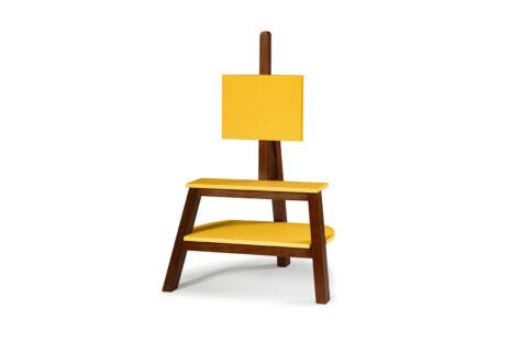 Rack Cavalete Amarelo