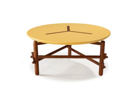 Mesa de Centro Freijó Amarela