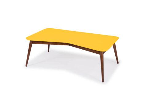 Mesa de Centro Base Amarela