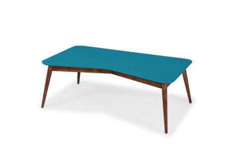 Mesa de Centro Base Azul