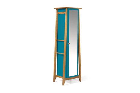 Armário Rush 1 porta Azul