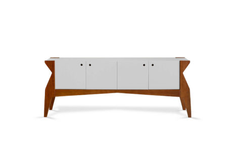 Buffet Base 4 portas Branco
