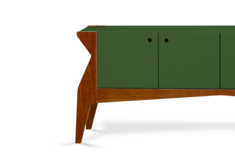 Buffet Base 4 portas Verde