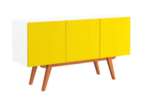 Buffet Equilíbrio 3 Portas Amarelo