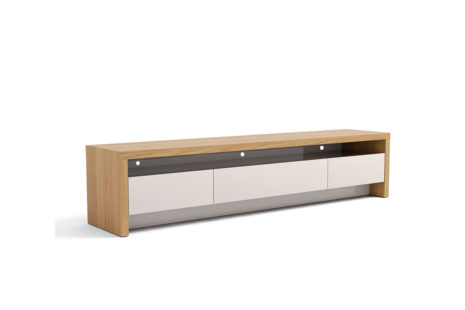Rack Colonia 2.2 Rovere Euro com Off White