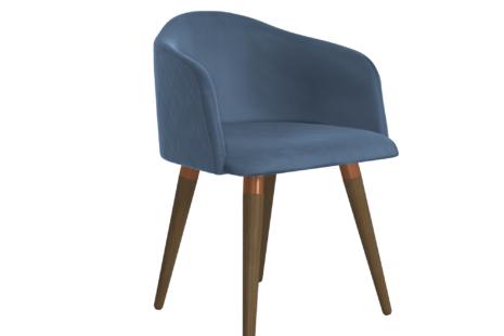 Cadeira Kari Veludo