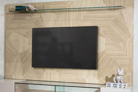 Painel para TV Geo 217 cm Artesanal