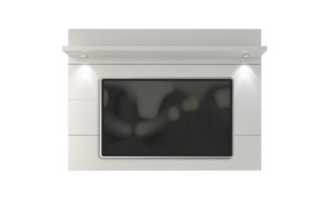 Painel de TV Home Horizon Branco Brilhante 181 cm