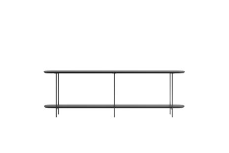 Sofá Table Iron 180 cm Preto Fosco