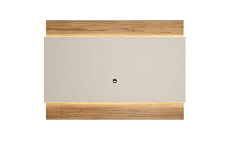 Painel para TV Lincoln 195 cm – Cinamomo c/ Off White