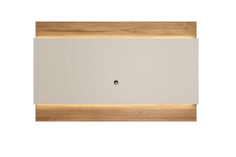 Painel para TV Lincoln 217 cm – Cinamomo c/ Off White