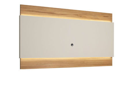 Painel para TV Lincoln 240 cm – Cinamomo c/ Off White