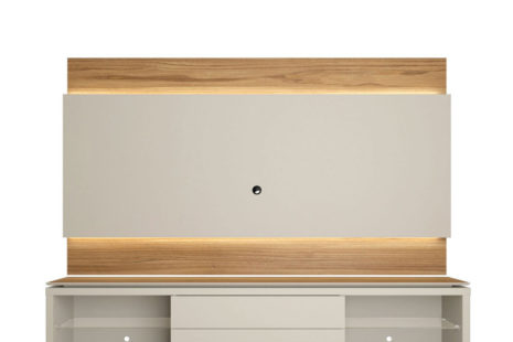 Rack com Painel Lincoln 240 Off-White