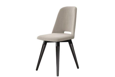 Cadeira Selina Giratória Veludo – Pés Preto