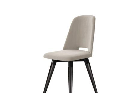 Cadeira Selina Giratória Veludo – Preto