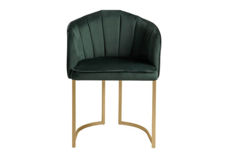 Cadeira Beverly – Pés Dourado