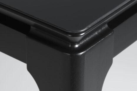 Mesa de Jantar Float c/ Vidro – Preto